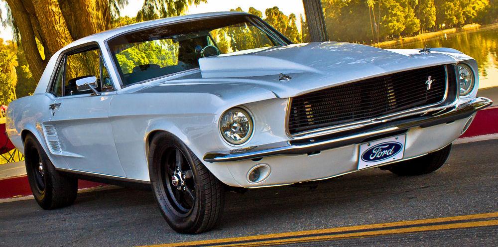 Vinnie Pia 1967 Mustang