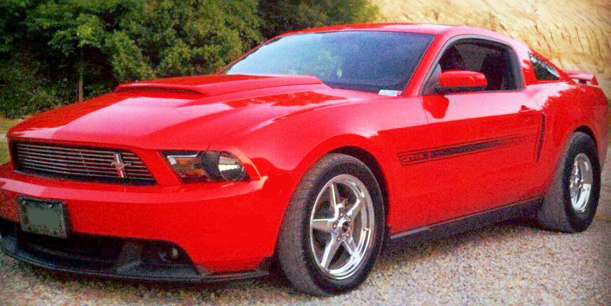 2011 RACE RED GT/CS