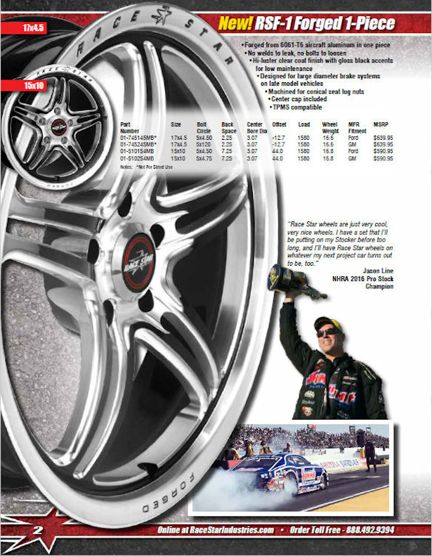 Race Star Industries 2017 Catalog